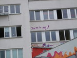 Streetart beim Puerto Giesing in München Februar 2011