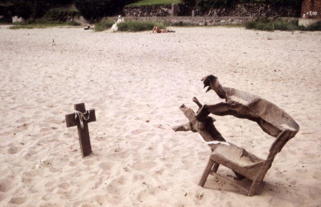 Fischkreutz und onanierender Sandstuhl