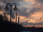 sunset@Wittelsbacher Brücke-München