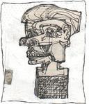 Projet de monument à la mémoire du théoricien de l'art inconnu