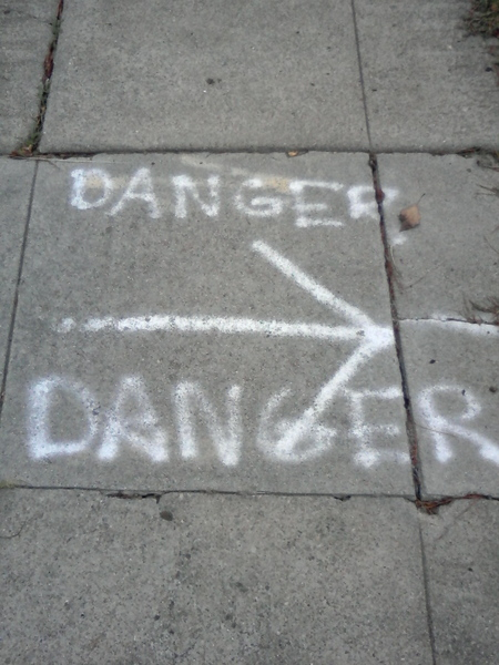 Danger (from the series: Word on the Street1208091332a