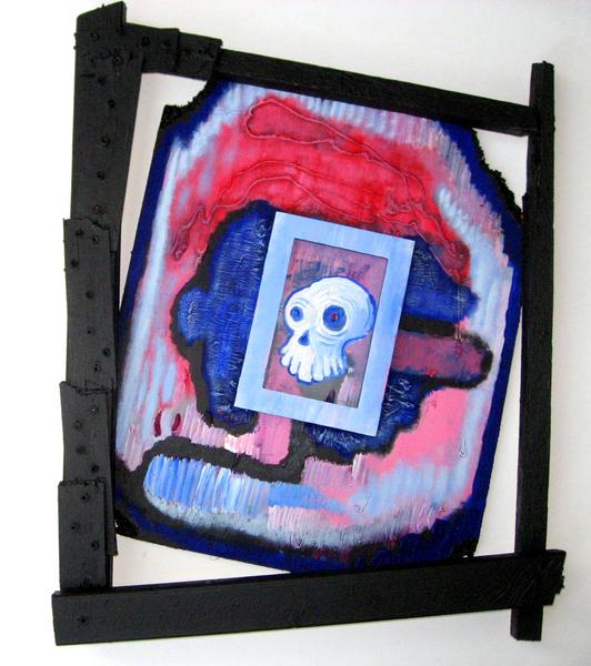 Freaky Framed Acrylic Funhouse