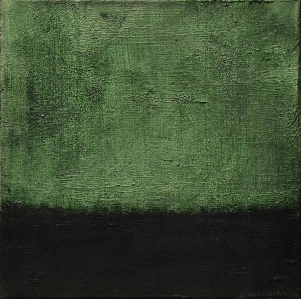Paisaje verde y negro / Green and black landscape