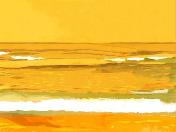 Yello beach