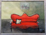 ländliches sofa