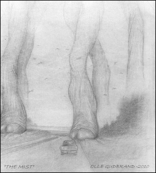 The Mist - Illustration 2010