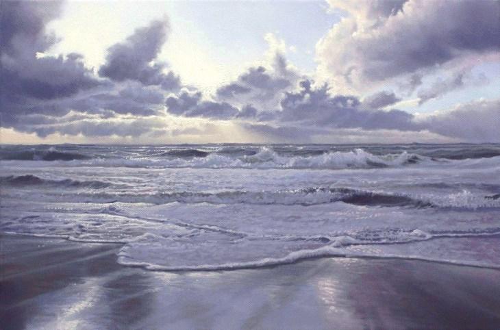 Nordsee im Gegenlicht