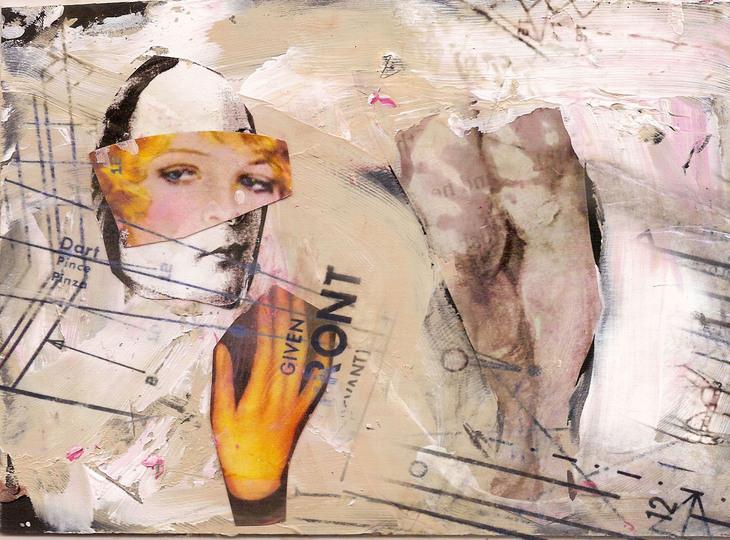mirror, 2011, 21cm x 30cm, collage digital print, ed