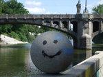 Maximiliansbrücke & Smiley