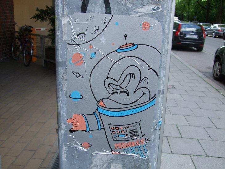 Unterführung Friedensengel - Streetart München