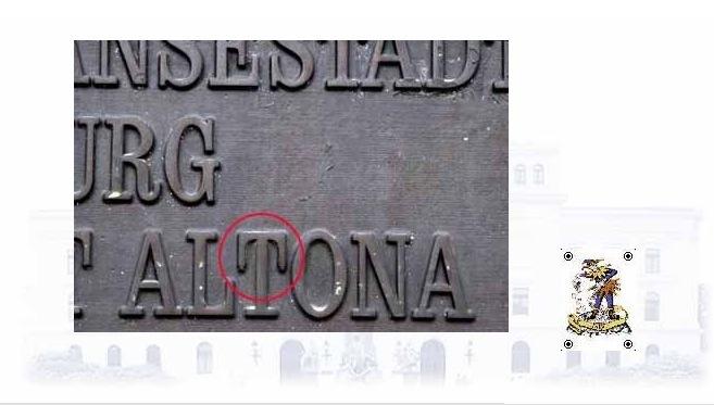 Narrenkappe fuer das Altonaer Rathaus