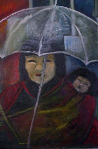Angst unter dem Schirm (JAPAN)
