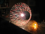 String Art Lamps