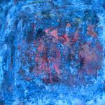 Bleu abstraction