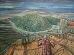 green leak - israeli art. gideon saar
