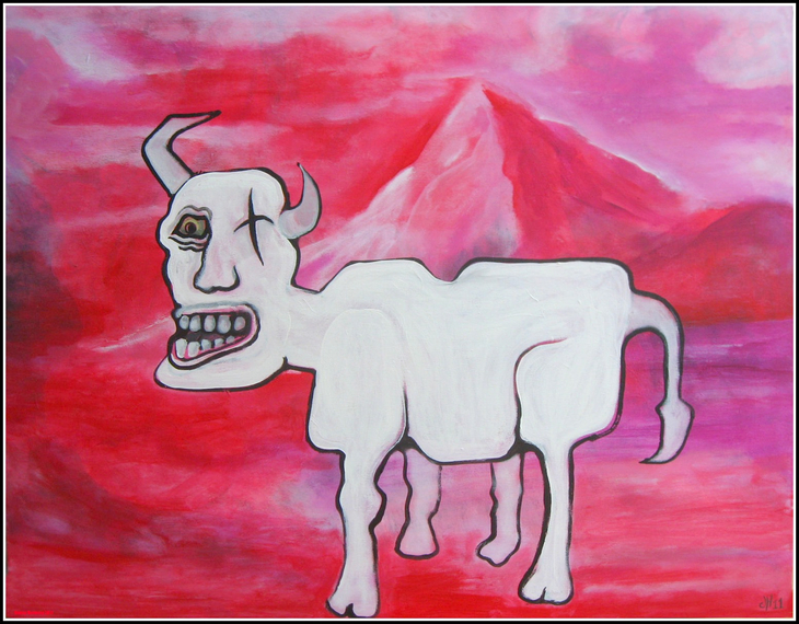 The Old and Very Grumpy mountain Goat