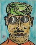 Gaddafi incognito