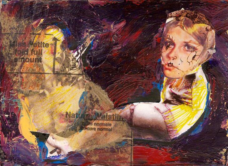 Dangerous girls, 2011 60cm x 90 cm, digital print on paper, ed