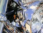 Chrome Acryl Leinwand 80x60cm
