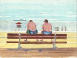 Brighton Beach boardwalk