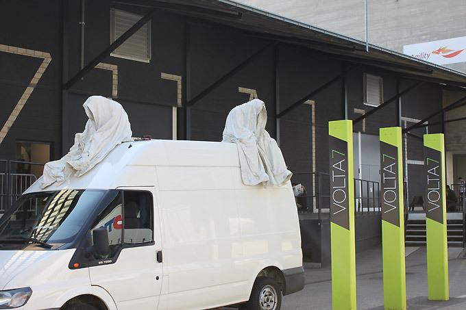 contemporary-art-basel-volta-show-ghost-car-manfred-kielnhofer