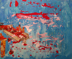 Regatta Red and Seafoam White