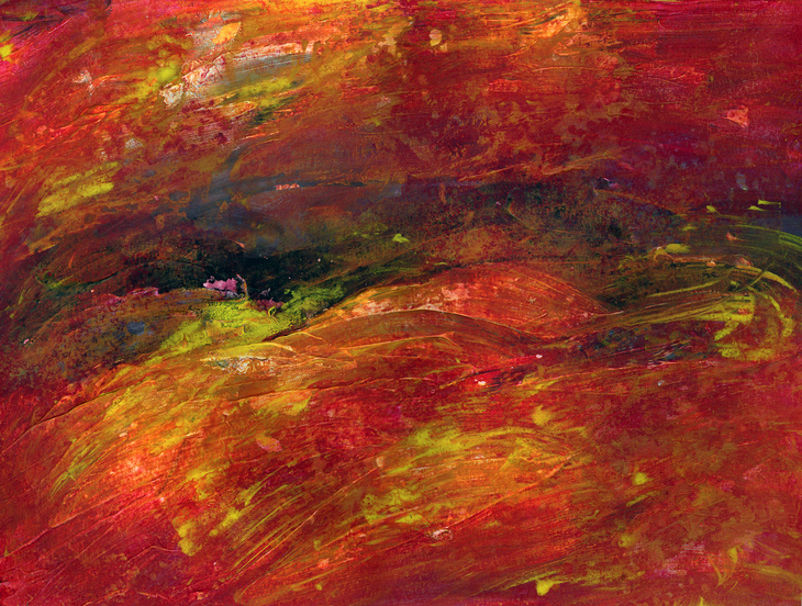 untitled (red storm)
