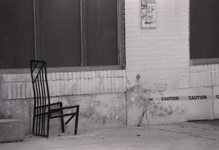 caution chair #2