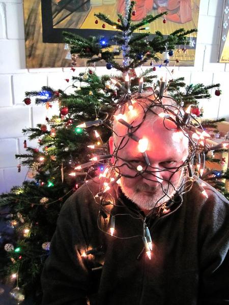 Ich bin mein Weihnachtsbaum