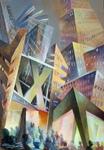 Berlin IX Aivars Mangulis 2004 70 x100AcrylLeinwand