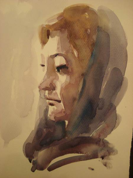 Sahar,10 minute drawing