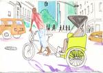 Bike-cab