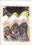 Three lost nuns         cm