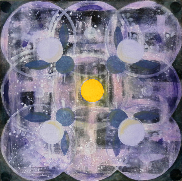 Mandala Violet -$400