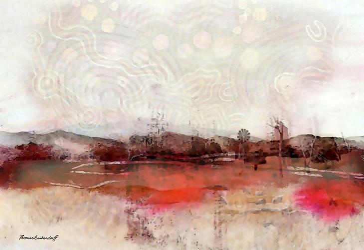Karrara Landscape or Toxic Landscape