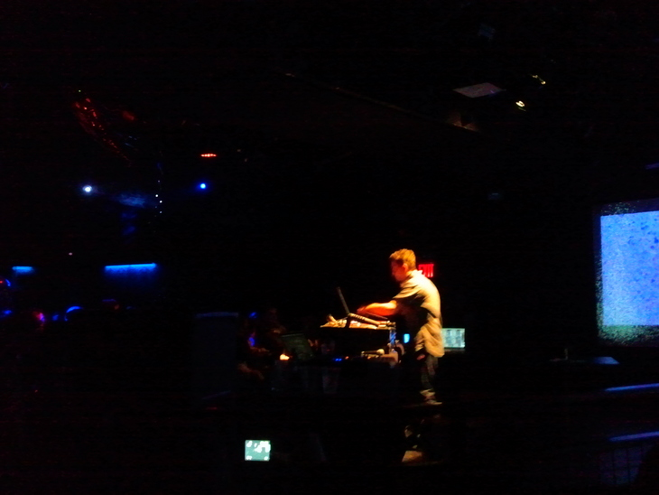Bonobo at (le) Poisson Rouge, NYC