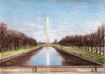 Reflecting Pool, Washington Monument, Washington DC