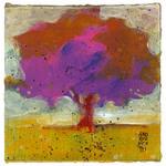 L'albero dalle foglie fucsia