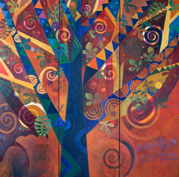 The tree of life in Eden