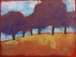 alberi di collina