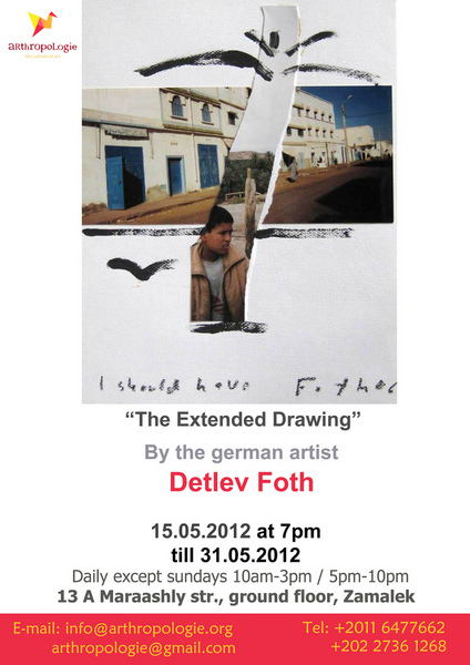 The Extended Drawing / Detlev Foth / Cairo