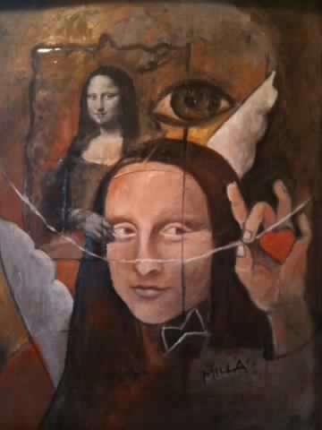 Mona-geheimnis (weitergemalt)