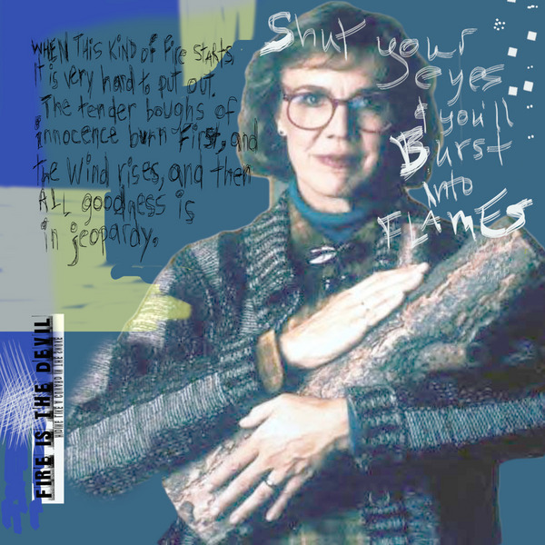 Margaret Lanterman aka Log Lady