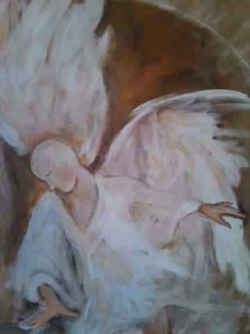 Runter gefallener Engel
