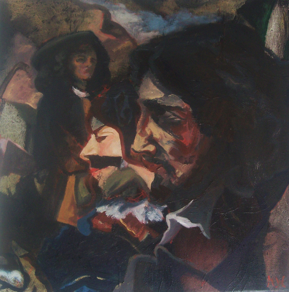 cannibailising courbet double self p