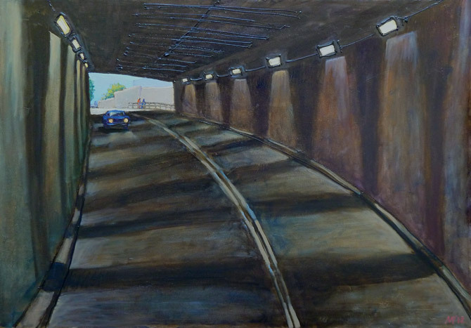 Kanonersky tunnel.