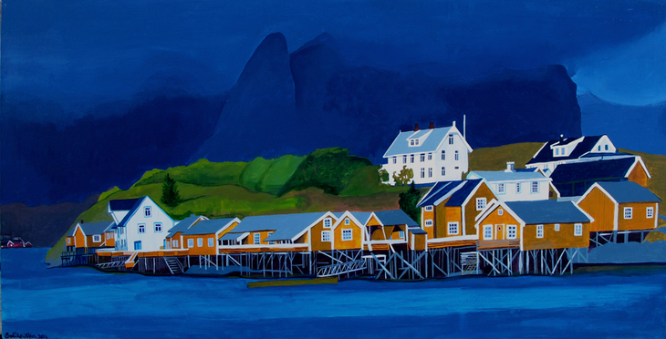 Lofoten, Sakrisoy, Norway