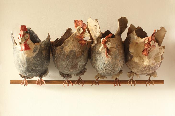 Hühnerstange