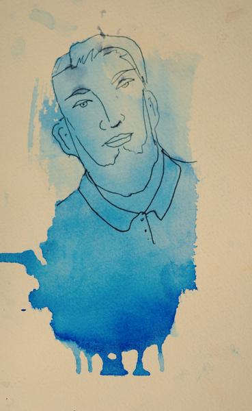 Ritratti : blu
