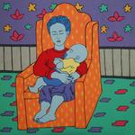 Menina com Bebê II (Vi e Cy II) (Little Girl With Baby II)